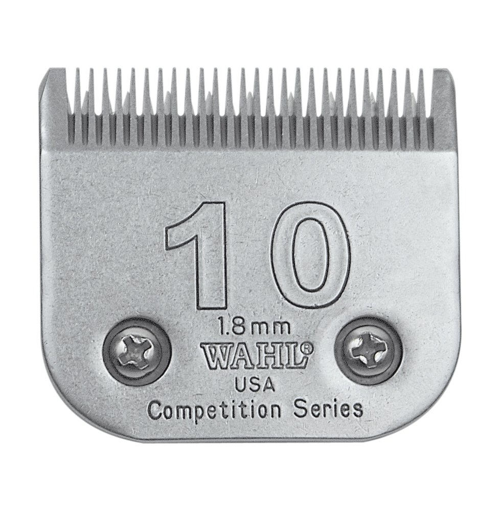 Libretto Lithium No. 10 blades for equine clipping, Lister Shearing