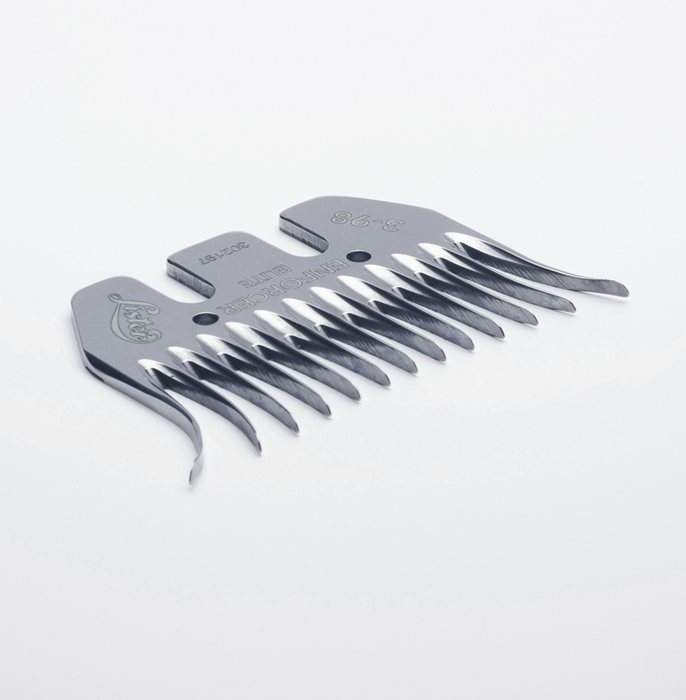 3-98 Enforcer Elite sheep shearing comb, Lister Shearing